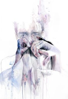 """""""Recovery is not simply the apologies to yourself, but also the decision to give forgiveness. Hatred of the self is exhausting. It is time  for you to rest.""""  —Michelle K., What Recovery Means To Me artwork by Silvia Pelissero a.k.a. agnes-cecile"""