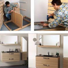 fabriquer un tablier de baignoire avec rangements int gr s tablier de baignoire baignoires et. Black Bedroom Furniture Sets. Home Design Ideas