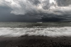 https://flic.kr/p/NC7q6L | incoming | A lightning storm over Lake Ontario.  Thanks for viewing!