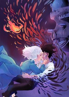 So pretty :D - Howl's Moving Castle