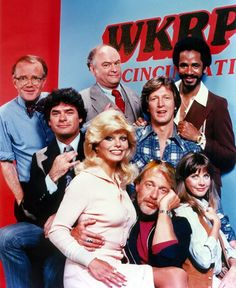 "WKRP in Cincinnati (1978-1982).  Great collection of characters.  Next to the Ginger vs. Mary-Ann debate, the ""are you a Bailey man or a Jennifer man"" was the next biggest.  Personally, I was always a Bailey man.  Memorable quote:  ""As God is my witness, I thought turkeys could fly""."