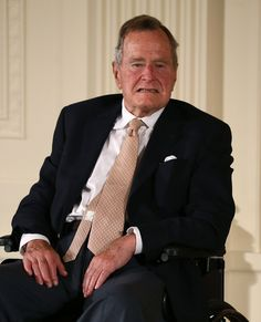A spokesman for former President George H.W. Bush apologized after mistakenly issuing a statement on the death of Nelson Mandela, the former South African president who was discharged from the hospital on Sunday. Jim McGrath, a spokesman for Bush, told the Washington Post on Sunday that he had misread a news alert on Mandela's condition from the Washington Post and rushed to get a statement out.