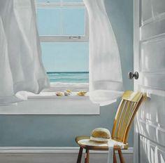 Slow Time, oil on canvas, Karen Hollingsworth
