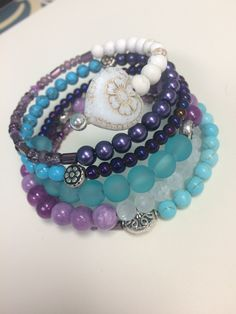 A personal favorite from my Etsy shop https://www.etsy.com/listing/245338142/turquoise-purple-and-white-bohemian-wrap
