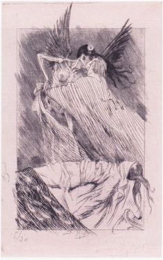 Kisses of Death - Felicien Rops