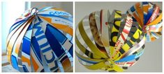 Globes | 31 Things You Can Make Out Of Cereal Boxes