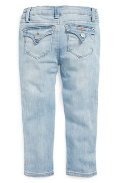 Hudson Kids 'Collin' Skinny Jeans (Baby Girls) available at #Nordstrom