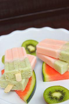 Eis   wassermelone & kiwi