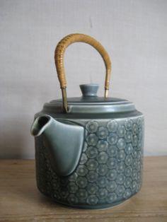 Quistgaard - AZUR BLUE - big teapot - Kronjyden - 1960s