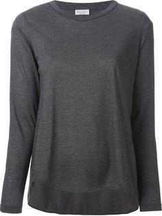 Brunello Cucinelli Long Sleeve T-shirt - Ottodisanpietro - Farfetch.com