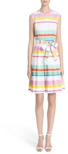 Kate Spade New York Stripe Shirtdress
