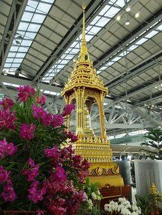 in Suvarnabhumi Airport สนามบินสุวรรณภูมิ