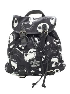 The Nightmare Before Christmas Jack Slouch Backpack from Hot Topic