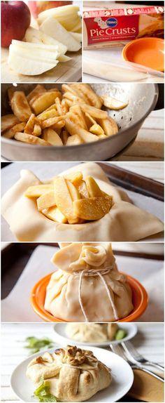 Apple Cinnamon Dumplings #pillsbury