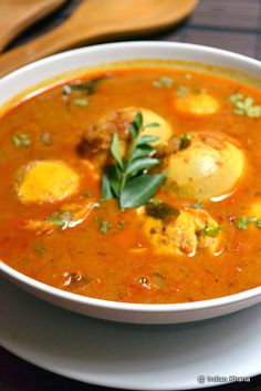 Egg Recipes Indian, Easy Egg Recipes, Recipes In Tamil, Cooking Recipes, Ethnic Recipes, Egg Kurma, Tiffin Recipe, Masala Curry