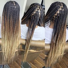 Locs and Jewels Big Box Braids Hairstyles, Braids Hairstyles Pictures, Twist Braid Hairstyles, Black Girl Braids, Braided Hairstyles For Black Women, African Braids Hairstyles, Braids For Black Hair, Braids With Shaved Sides, Braids With Curls
