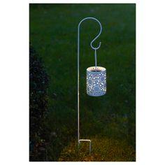 SOLVINDEN LED solar-powered lantern with ground spike, $12.99
