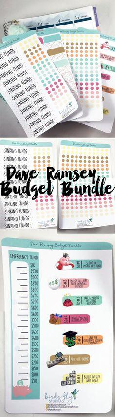 89 best {Budget Binder} images on Pinterest - dave ramsey budget spreadsheet