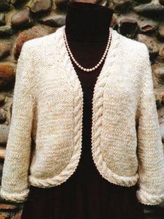 Casaco de tricô