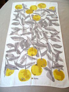 vera neumann, yellow cherries.