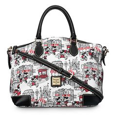 Mickey and Minnie Mouse Downtown Satchel by Dooney & Bourke - I TOTALLY NEED THIS <3