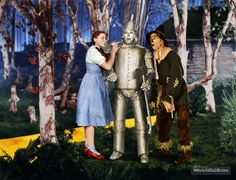 The Wizard of Oz (1939) Judy Garland, Jack Haley and Ray Bolger