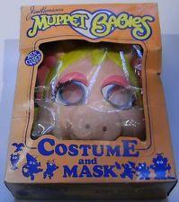 VTG 1984 Ben Cooper Jim Henson Muppet Babies Miss Piggy Halloween Costume &…