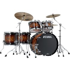 """Tama Starclassic Performer B/B 5-Piece Shell Pack with 22"""" Bass Drum M"""