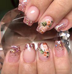 "Babi Corrêa no Instagram: ""😍😍😍👑@casadasunhas_es @monnikenunes @sueline_adesivos_artesanais #nails #nailsart #unhasdegel #nailsgel #nailsg #nailsgram #nailsgirly…"""