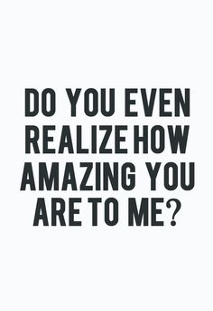 Cant someone say this to me?
