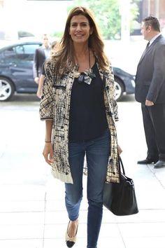 Juliana Awada visitó la embajada del Líbano Embajada de Líbano. Stylish Eve, Trendy Fashion, Fashion Outfits, Womens Fashion, Curvy Fashion, Casual Outfits, Fashion Tips, Fashion Trends, Casual Chic