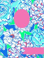 lilly pulitzer binder covers printables | Lilly Pulitzer Binder Cover Printables!