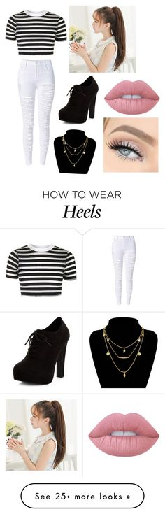 """""""Casual"""" by jolina-martinez on Polyvore featuring Topshop, New Look and Lime Crime"""