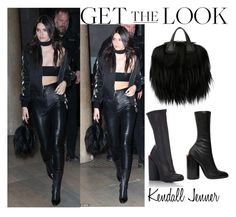 """""""Kendall Jenner Off-White Fashion Show in Paris March 8 2016"""" by valensmilerstyle ❤ liked on Polyvore featuring Givenchy"""
