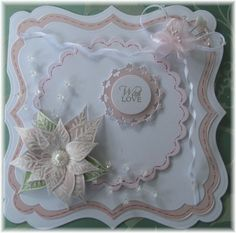Die cut and also using stamps by Chloe