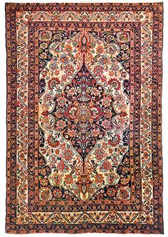 Image of 17th Century Silk Kerman Persian carpet