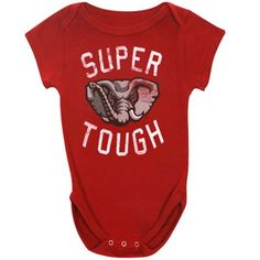 Alabama Crimson Tide Infant Super Tough Creeper - Crimson