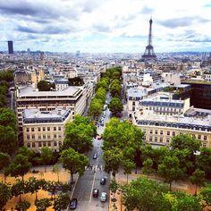 """Views over Paris """