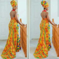 Shake the Fashion Table With These Beautiful Kente Styles - Sisi Couture African Attire, African Wear, African Women, African Dress, African Dashiki, African Style, African Prom Dresses, African Wedding Dress, African Fashion Dresses