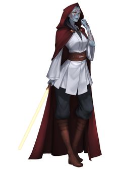 Rie Lin Yuuzhan Vong Jedi Master by Shoguneagle on DeviantArt - Jedi Costume - Ideas of Jedi Costume - Rie Lin Yuuzhan Vong Jedi Master by Shoguneagle on DeviantArt Star Wars Jedi, Star Wars Stormtrooper, Rpg Star Wars, Star Wars Dark, Star Wars Fan Art, Star Wars Concept Art, Star Wars Characters Pictures, Images Star Wars, Female Characters