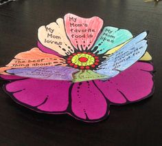 Mother's Day Charm- crafts and writing for Mother's Day
