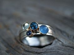 love the blue stones