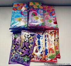 Fun japanese candy (wata gum)