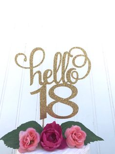 Discover recipes, home ideas, style inspiration and other ideas to try. Happy 18th Birthday Quotes, Happy Birthday Greetings, Birthday Messages, 18 Cake Topper, Birthday Cake Toppers, Birthday Centerpieces, Birthday Party Decorations, 18th Birthday Party, Birthday Brunch