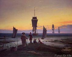 Caspar David Friedrich - The Stages of Life, c.1835