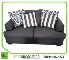 Time to give your living room a new look? Head down to CAW Third Generation, for our fantastic assorted scatter cushions and living room furniture! Generation Photo, Scatter Cushions, Living Room Furniture, New Look, Love Seat, Third, Couch, Lifestyle, Home Decor