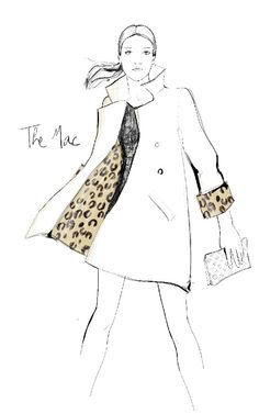 Louis Vuitton Icones Stephen Sprouse Mac Illustration by Garance Dore