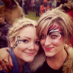Festival face paint- obv prettier