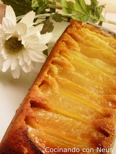 Bizcocho de Manzana Invertido (Thermomix) Apple Recipes, Sweet Recipes, Thermomix Desserts, Bread Machine Recipes, Cake Tutorial, Allrecipes, Cooking Recipes, Favorite Recipes, Sweets