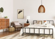 Awe Inspiring 104 Best Mid Century Bedrooms Images In 2019 Mid Century Inzonedesignstudio Interior Chair Design Inzonedesignstudiocom